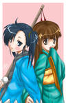 Setsuna and Konoka