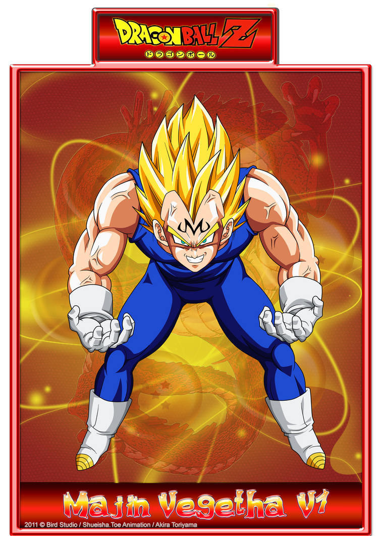Majin Vegeta v1 by CHangopepe