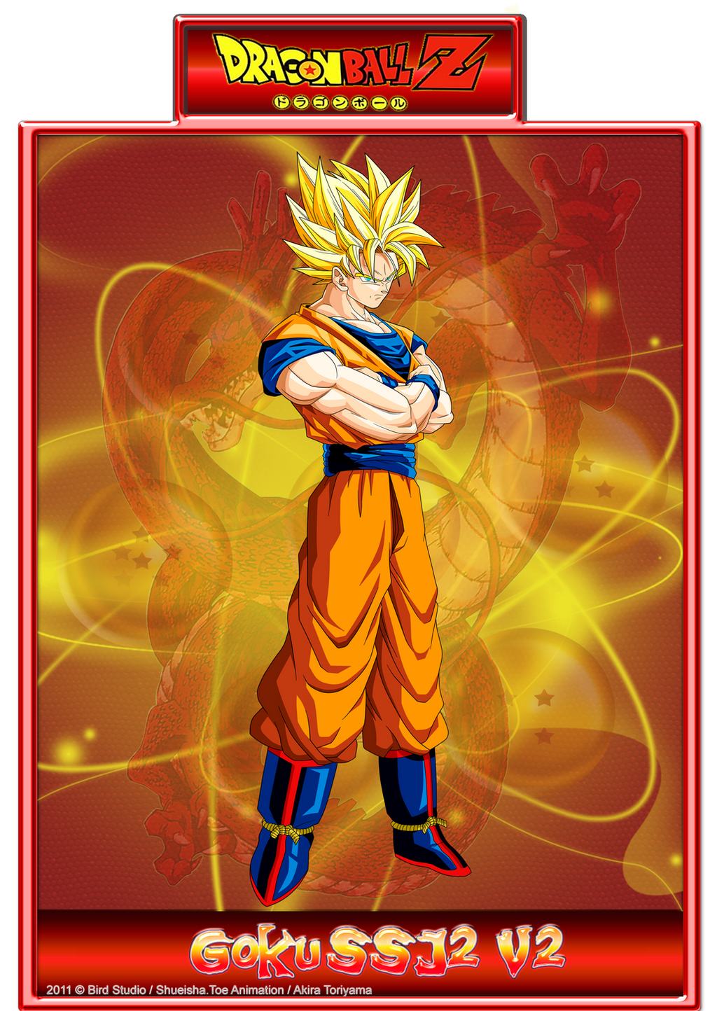 Goku SSJ2 V2 by CHangopepe