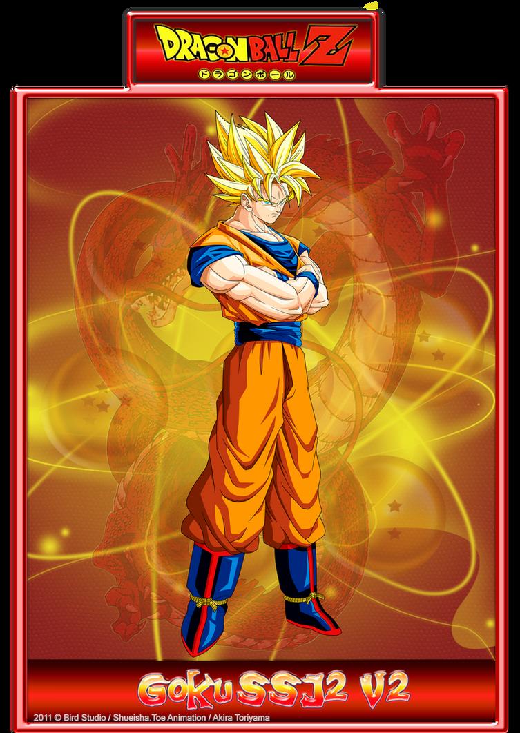 Goku SSJ2 V2 by CHangopepe