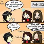 'Kakka's' Biggest Fan
