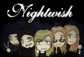 Nightwish For You Apes by Z-E-Y-U-S
