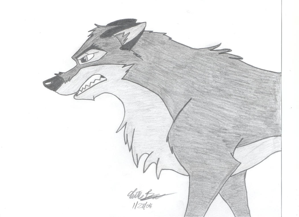 Angry Balto by skipshark773 on DeviantArt