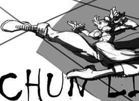 CHUN LI by kinggainer