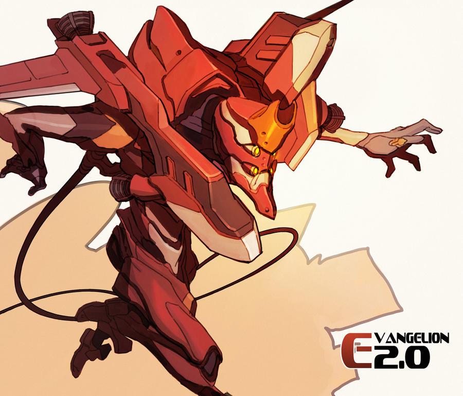EVA 02 by kinggainer on DeviantArt on