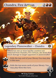 Chandra by kinggainer