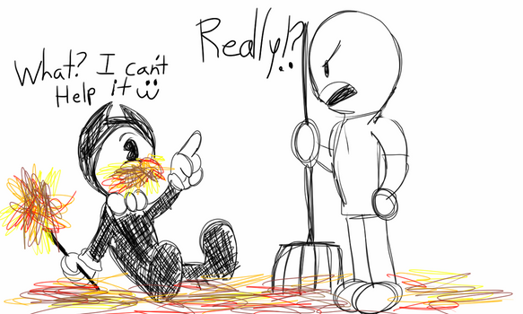 Bendy and Anonymous