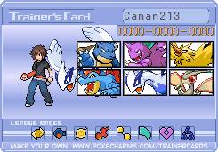 My trainer card by caman213
