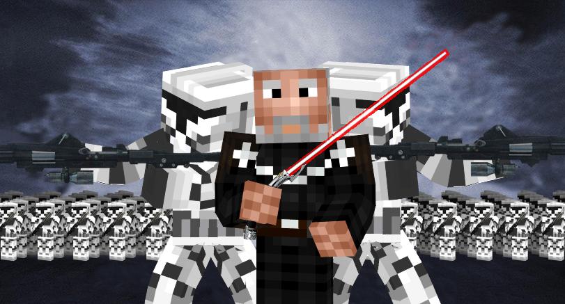 Minecraft Star Wars Episode Ii Poster Remake By Aaron001999 On Deviantart