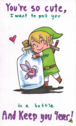 Valentine's Day 2015 Link by TheDreamerofSpace