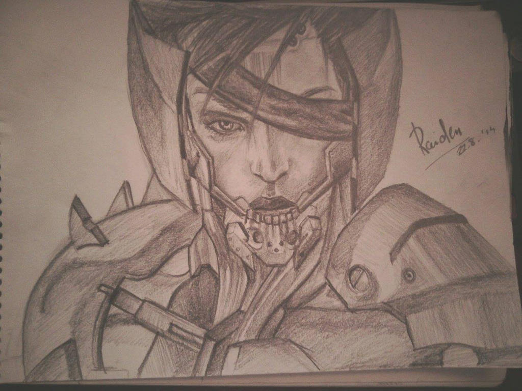 Metal Gear Rising Revengance- Raiden by WilhelmHirokai
