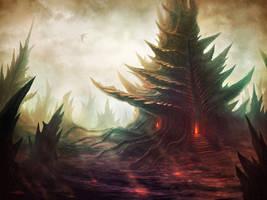 Dragon's Lair by monpuasajr