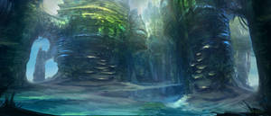 Environment Concept 01 by monpuasajr