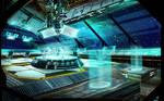 Space Ship Bridge Concept