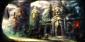 The Temple by monpuasajr