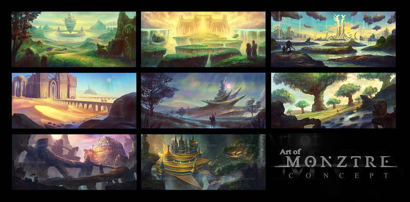 Environment Concept Arts