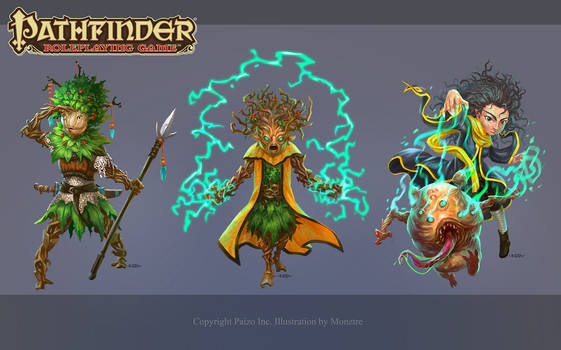 Pathfinder RPG Character Designs