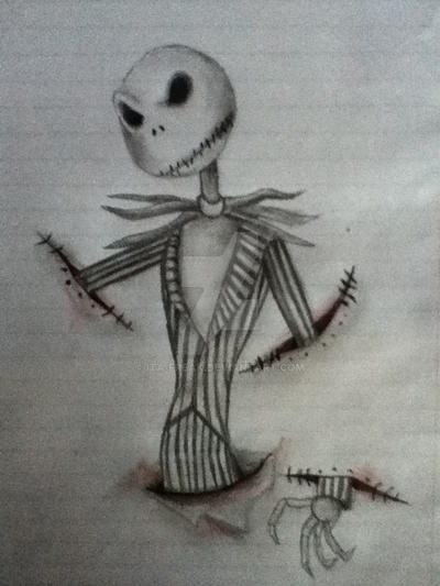 Jack Skellington by Ita-Freak