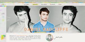 daniel radcliffe - fansite header by arteinnahpets