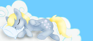 Sleeping Derpy by Froncake