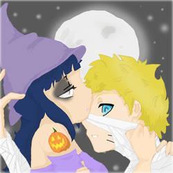 Naruto and Hinata halloween