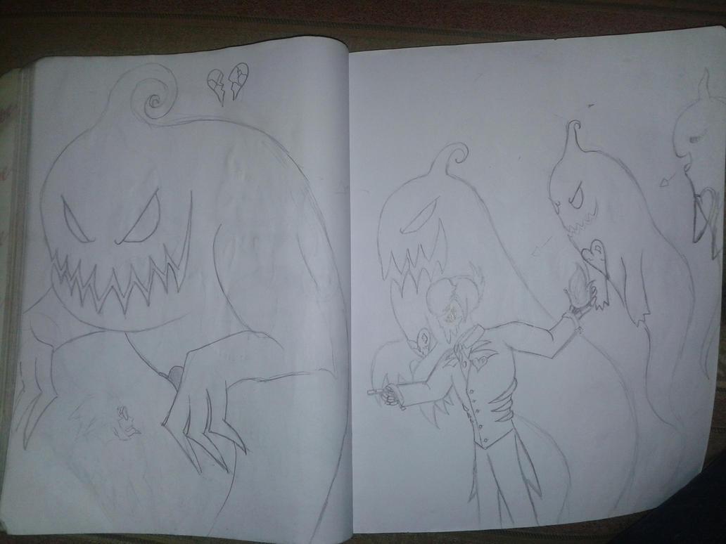 mystery skulls- ghost 2 by 13DARKYLAND13