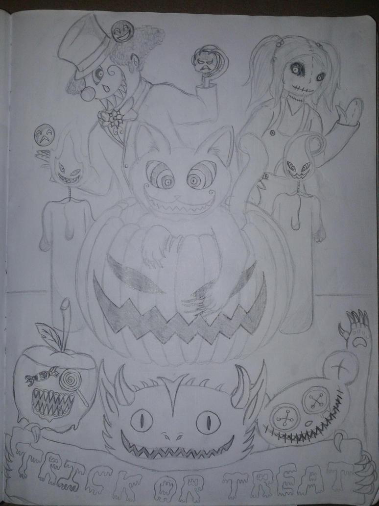 Happy Halloween by 13DARKYLAND13