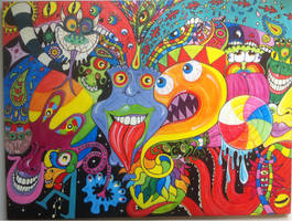 Psychedelic Creationism by Basander