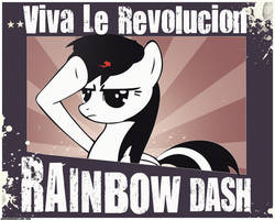 Viva La Rainbow Dash VERSION 2 by TattyDesigns