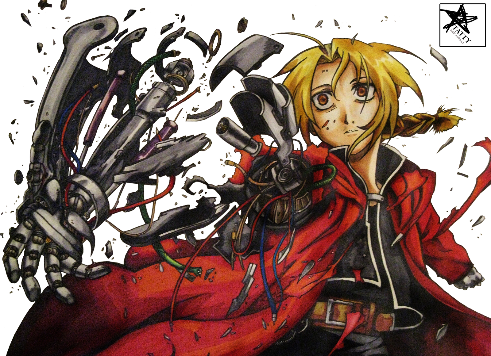 Edward Elric Extraction By Tattydesigns On Deviantart