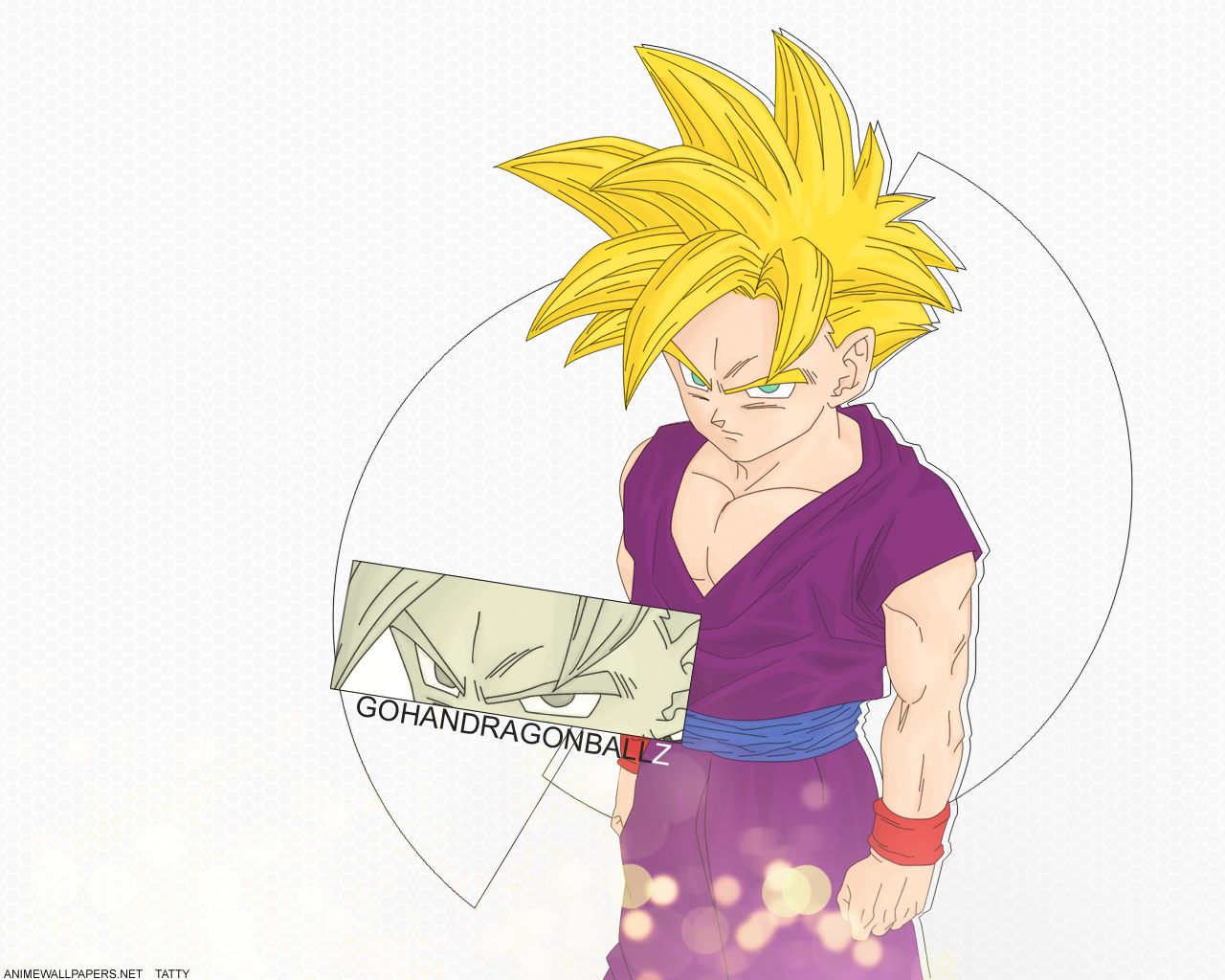 Teen gohan wallpaper by tattydesigns on deviantart - Teen gohan wallpaper ...