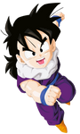 Son Gohan Render/Extraction PNG