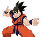 Son Goku Render/Extraction PNG
