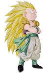 Gotenks Render/Extraction PNG