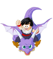 Gohan and Icarus Render/Extraction PNG by TattyDesigns