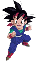 Goku Jr Render/Extraction PNG by TattyDesigns