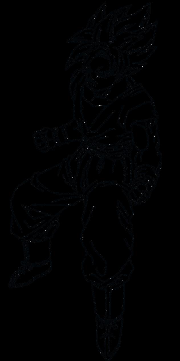 Dorable Dbz Para Colorear Goku Ssj God Bosquejo - Dibujos Para ...