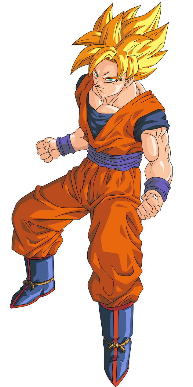 Displaying 18> Images For - Super Saiyan Goku 1... Ultra Ball Sprite