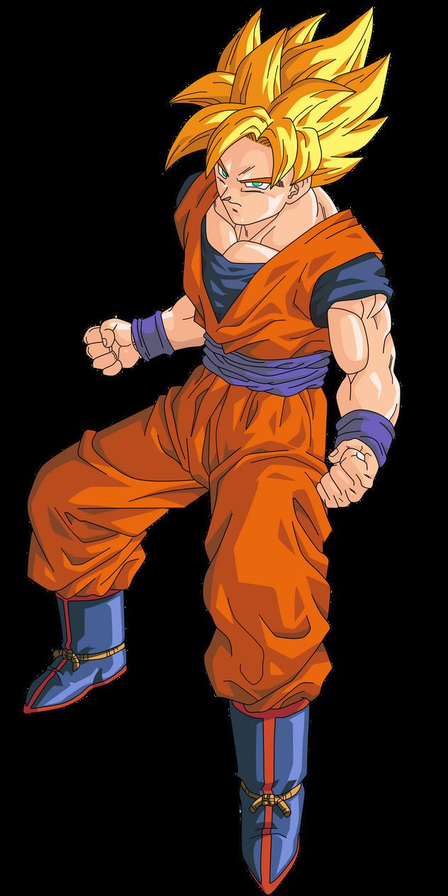 Goku SSJ 1 RenderExtra...