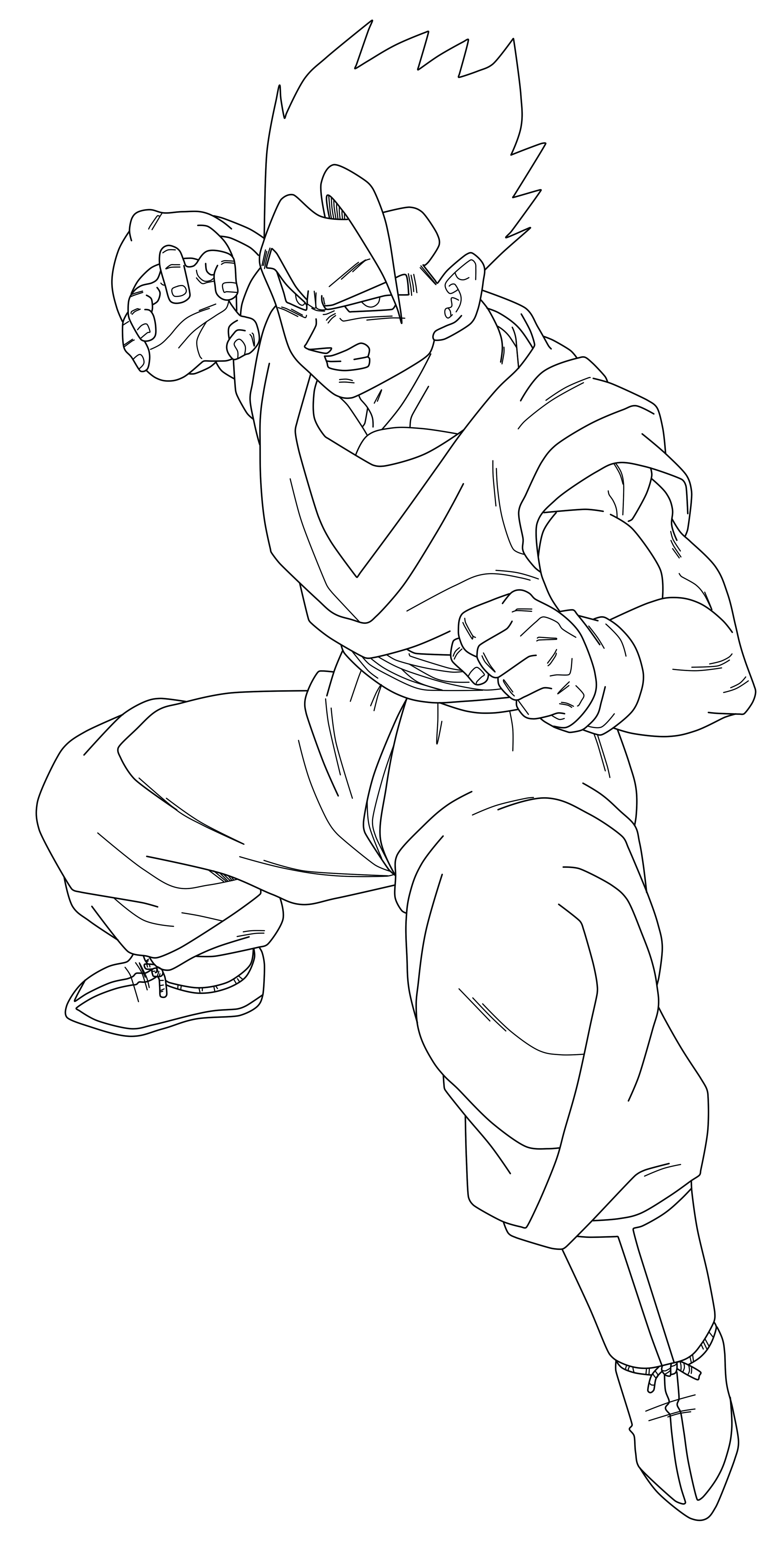 Mystic Gohan Line Art Png By Tattydesigns On Deviantart Gohan Coloring Pages