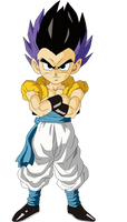 Base Form Gotenks Render/Extraction PNG by TattyDesigns