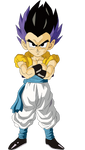 Base Form Gotenks Render/Extraction PNG