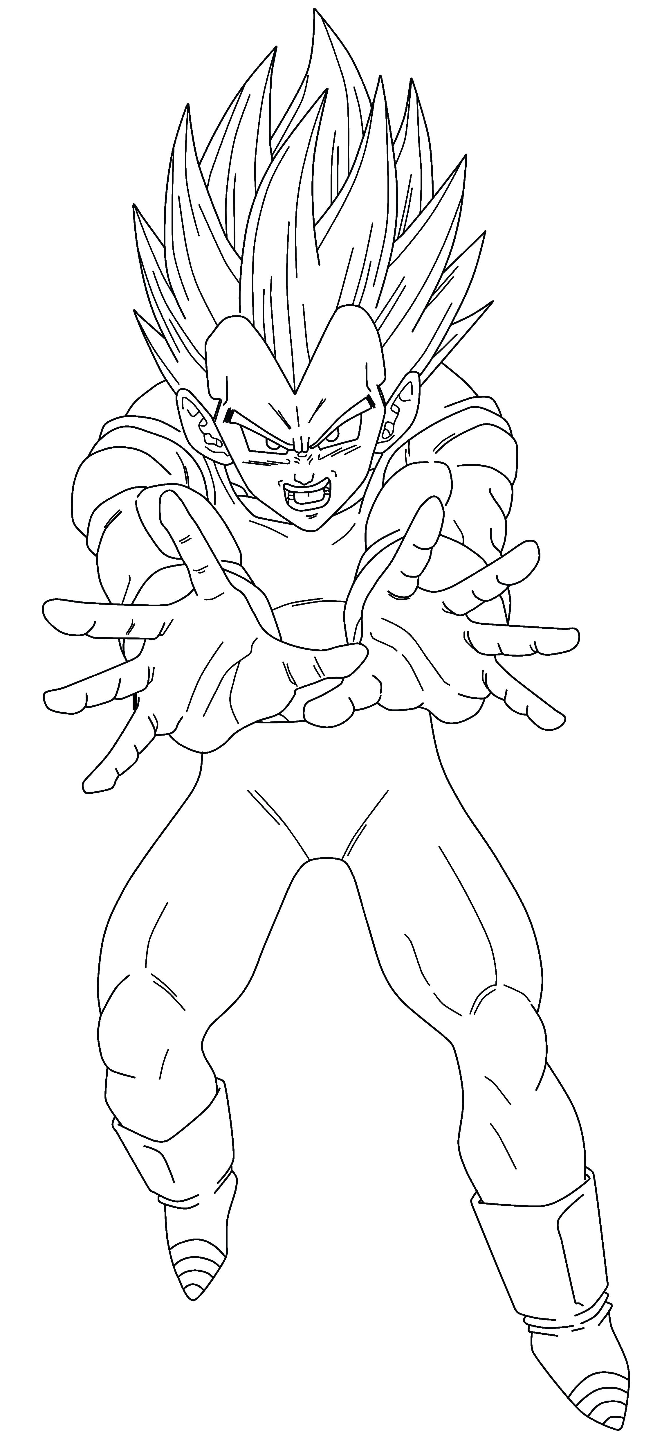 Line Drawing Png : Vegeta ssj line art png by tattydesigns on deviantart