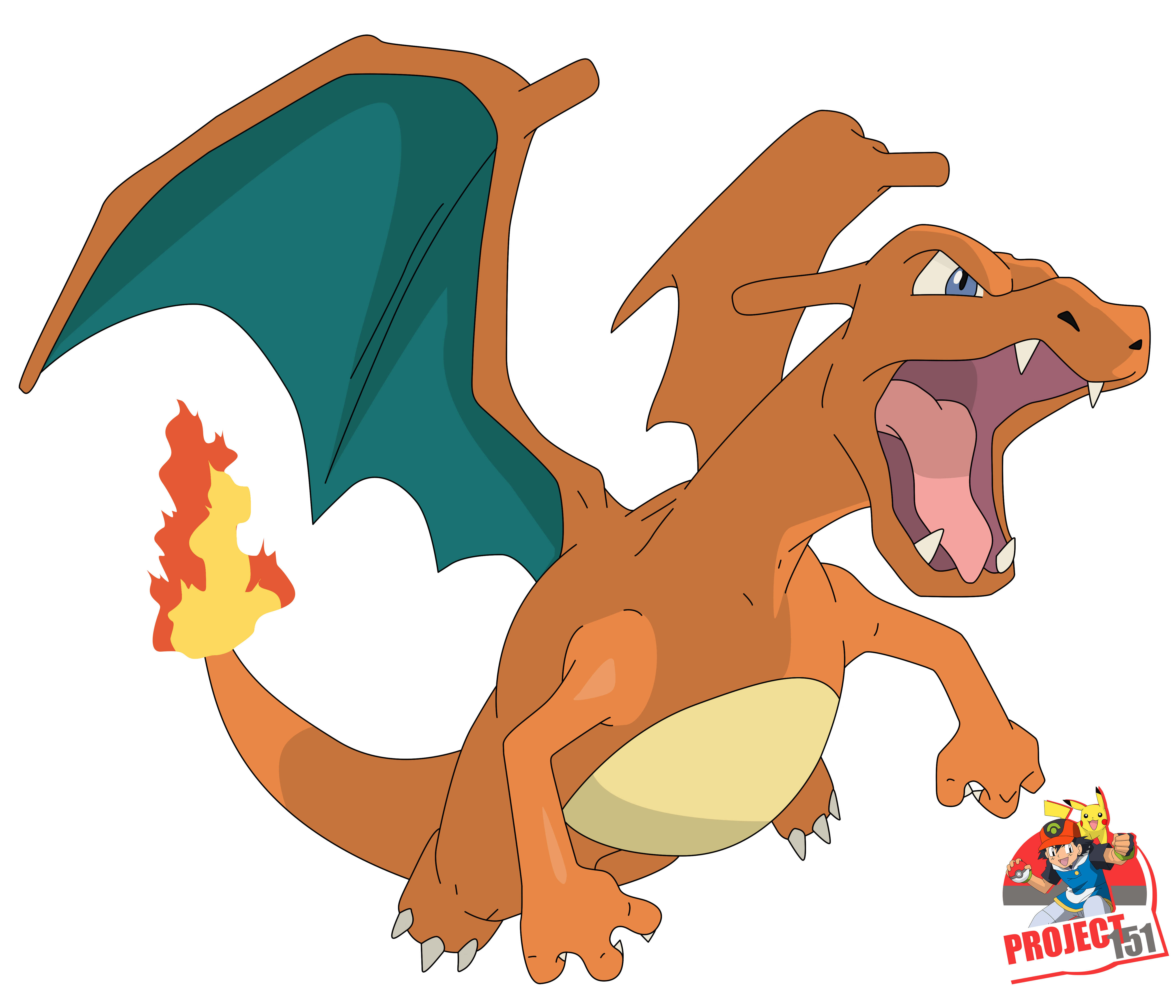 006 Charizard Vector Render/Extraction by TattyDesigns on ...
