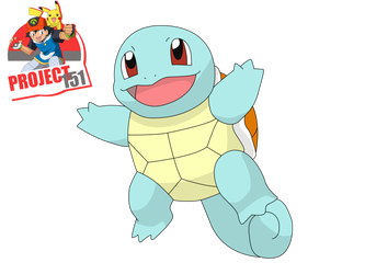 007 Squirtle  Vector Render/Extraction by TattyDesigns