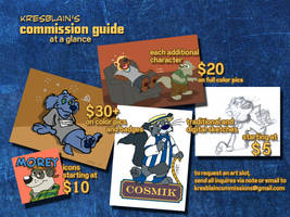 Commission Guide at a Glance