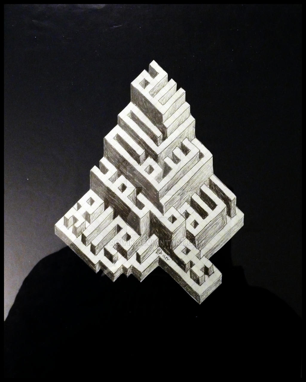 Kufi Extrusion 3 by RoiYik