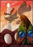 3 Moths by RoiYik