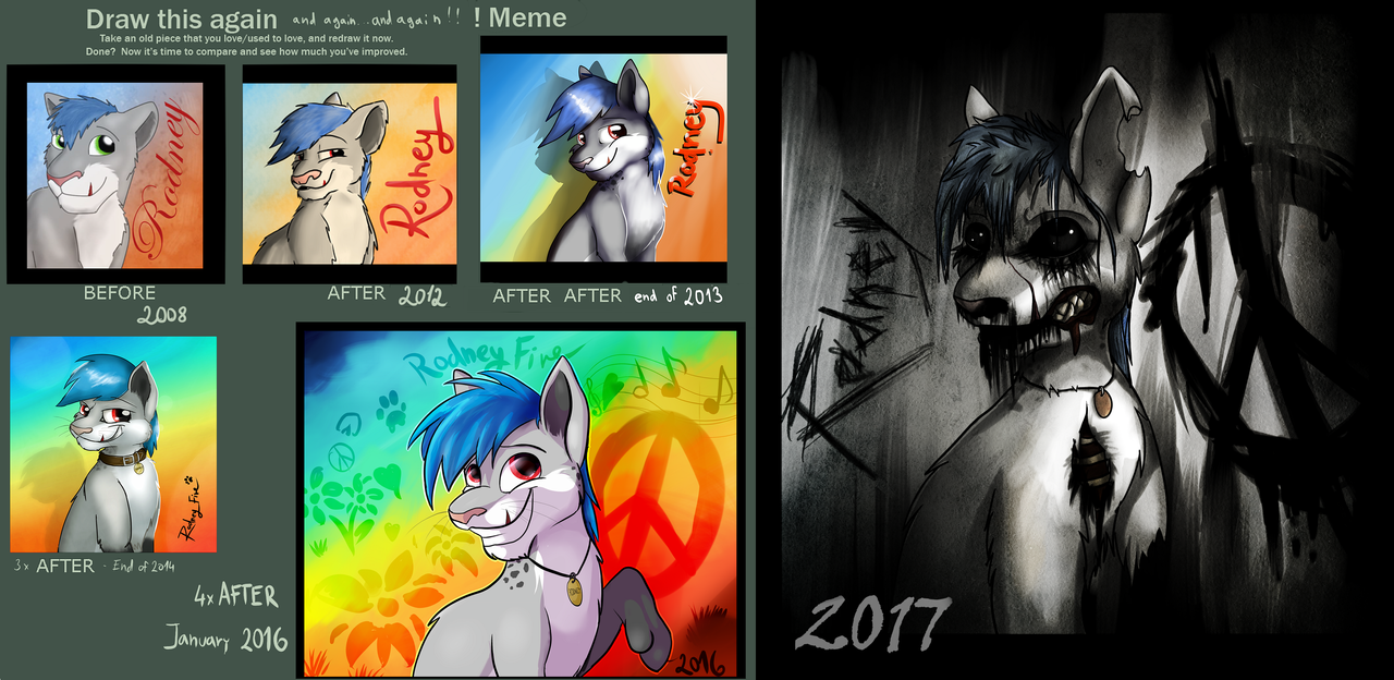 Redraw this again 2017 by Rodney5