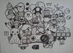 Doodle #12 Nintendo